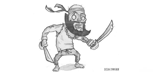 Les pirates, ces bandits démocrates!