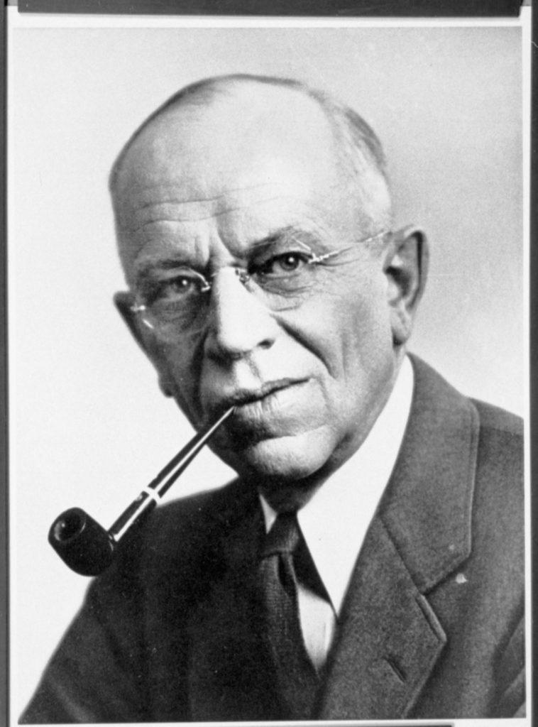 Aldo Leopold (1887-1948), écologue et écologiste américain. Père de l'écocentrisme.