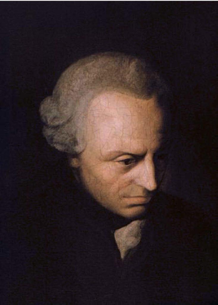 Emmanuel Kant (1724-1804), philosophe idéaliste allemand.