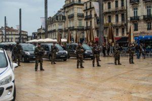 Dispositif militaire face au rassemblement du 26 octobre, jour de l'anniversaire de la mort de Rémi Fraisse.