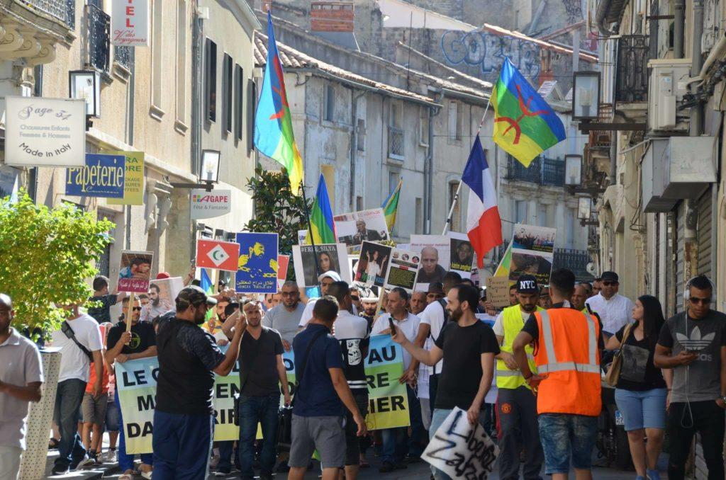 Manifestation du CSMRM le 25 juin 2017 à Montpellier